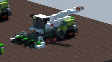 Claas Jaguar 960 Terra Trac Forage harvester [With Download] Minecraft Map & Project