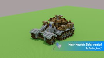 Melar Mountain Guild: Ironclad [Land Vehicle] Minecraft Map & Project