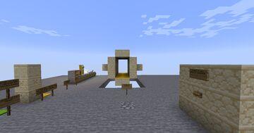 Hallway Challenge Minecraft Map & Project