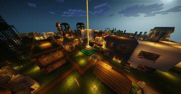✧﹡♛Modern Castle♛﹡✧ (español+ingles) Minecraft Map & Project