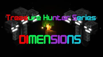 Treasure Hunter Series:Dimensions Adventure/Puzzle Map (Download link was the wrong puzzle map, fixed) Minecraft Map & Project