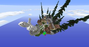 Sky spawn Minecraft Map & Project