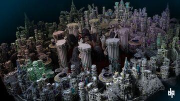 Skyblock Spawn 1kx1k Minecraft Map & Project
