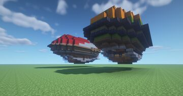 Steampunk Passenger Transport Minecraft Map & Project