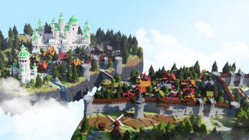 Crystal Islands Minecraft Map & Project
