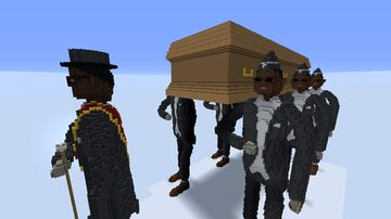 Coffin Dance Meme Minecraft Map & Project