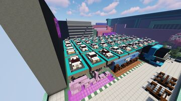 Sedan/Saloon Pack - 40 Cars Minecraft Map & Project