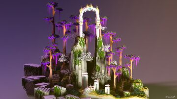 Arch lobby Minecraft Map & Project