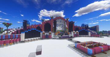 Minecraft | Tomorrowland Winter 2019 Mainstage | MinerBuilder Minecraft Map & Project