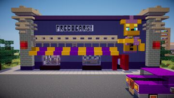 Fredbear's Family Dinner FNaF 4 (no mods, no texture packs) Minecraft Map & Project