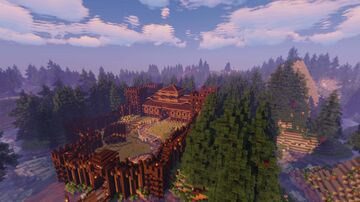 Woodland Fort Minecraft Map & Project