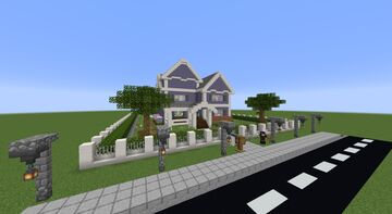 Craftsman Style Dream House Minecraft Map & Project