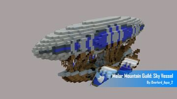 Melar Mountain Guild: Sky Vessel Minecraft Map & Project