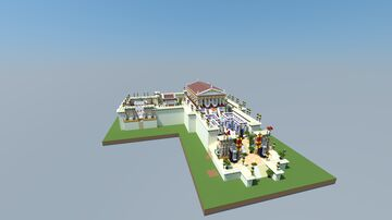 AC Origins Serapeion of Karanis- restored Minecraft Map & Project