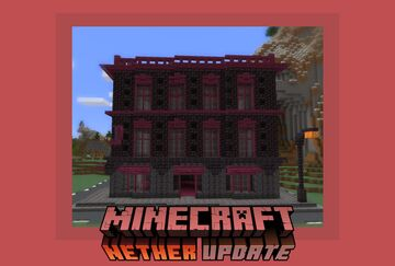 Georgian Townhouse | Nether Update 1.16 (with download) Minecraft Map & Project