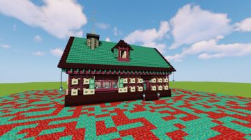 Small Nether Cottage Minecraft Map & Project