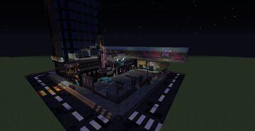 Cyberpunk 2077 Lizzie's Bar Minecraft Map & Project