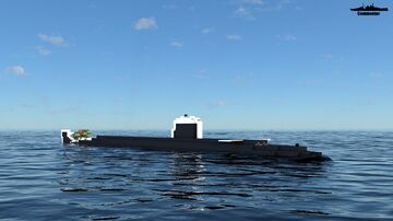 HMS Repulse 1:1 Scale Resolution class Minecraft Map & Project