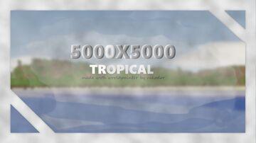 5000 X 5000!   MEGA CUSTOM TROPICAL ISLAND MAP   1.15   FREE DOWNLOAD! Minecraft Map & Project