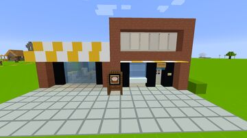 Modern Bakery Minecraft Map & Project