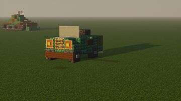 MB Willys Jeep Minecraft Map & Project