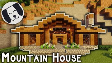 mountain house Minecraft Map & Project