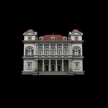 Simple Palazzo Palladiano III Minecraft Map & Project