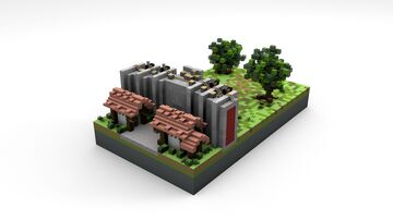 Karanes District - 1v1 PvP Map Minecraft Map & Project