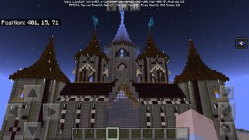 The dark castle Minecraft Map & Project
