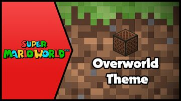 SMW- Overworld Theme SNES (Minecraft Cover) Minecraft Map & Project