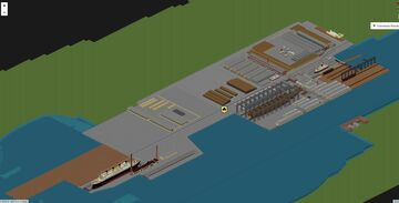 Harland and Wolff Shipyard 1911 (R.M.S. Titanic place of birth) Minecraft Map & Project