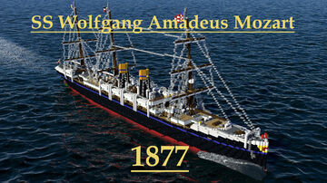 S.S. Wolfgang Amadeus Mozart 1877 Minecraft Map & Project