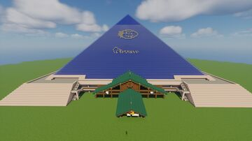 Bass Pro Shops Pyramid Minecraft Map & Project