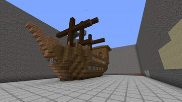 Ship Update v2.1 Minecraft Map & Project