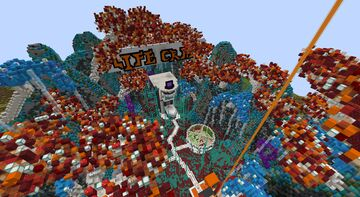 Futuristic/Alien Spawn Minecraft Map & Project
