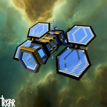 Futuristic Space Telescope +tutorial Minecraft Map & Project