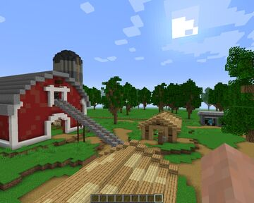 Shooting Farm Pvp Map + 3DWeapons Minecraft Map & Project