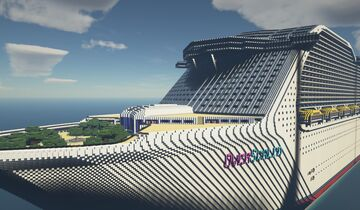 RCL OverScaled - Cruise Ship Minecraft Map & Project