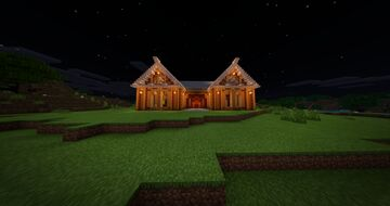 Forest House Minecraft Map & Project