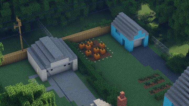 Small Pumpkin Garden on 169 Rawlinson Road