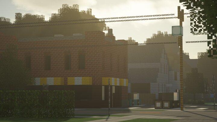 Brick Building Diner