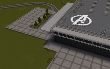 Marvel MMO Server- Avengers Facility Minecraft Map & Project