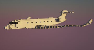 Gulfstream G650 1.5:1 Scale Minecraft Map & Project