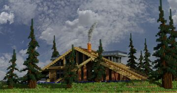 Alpine Cottege Minecraft Map & Project