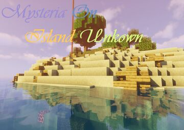 Mysteria On Island Unkown Minecraft Map & Project
