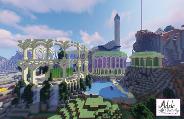 Fantasy butterfly base Minecraft Map & Project