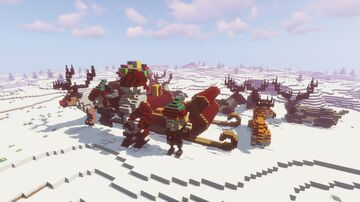 Christmas Monument Minecraft Map & Project