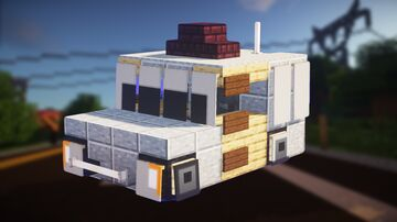 TOP GEAR: Hammerhead Eagle i-Thrust (2:1 scale) Minecraft Map & Project