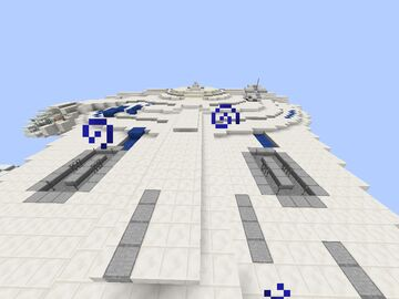 Millenium Falcon Variant Minecraft Map & Project