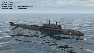 K-141 Kursk | Oscar II-class nuclear-powered cruise missile submarine Minecraft Map & Project